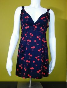 "LUCY LOVE ""Cheery Cherry"" Sun Dress /(L)"